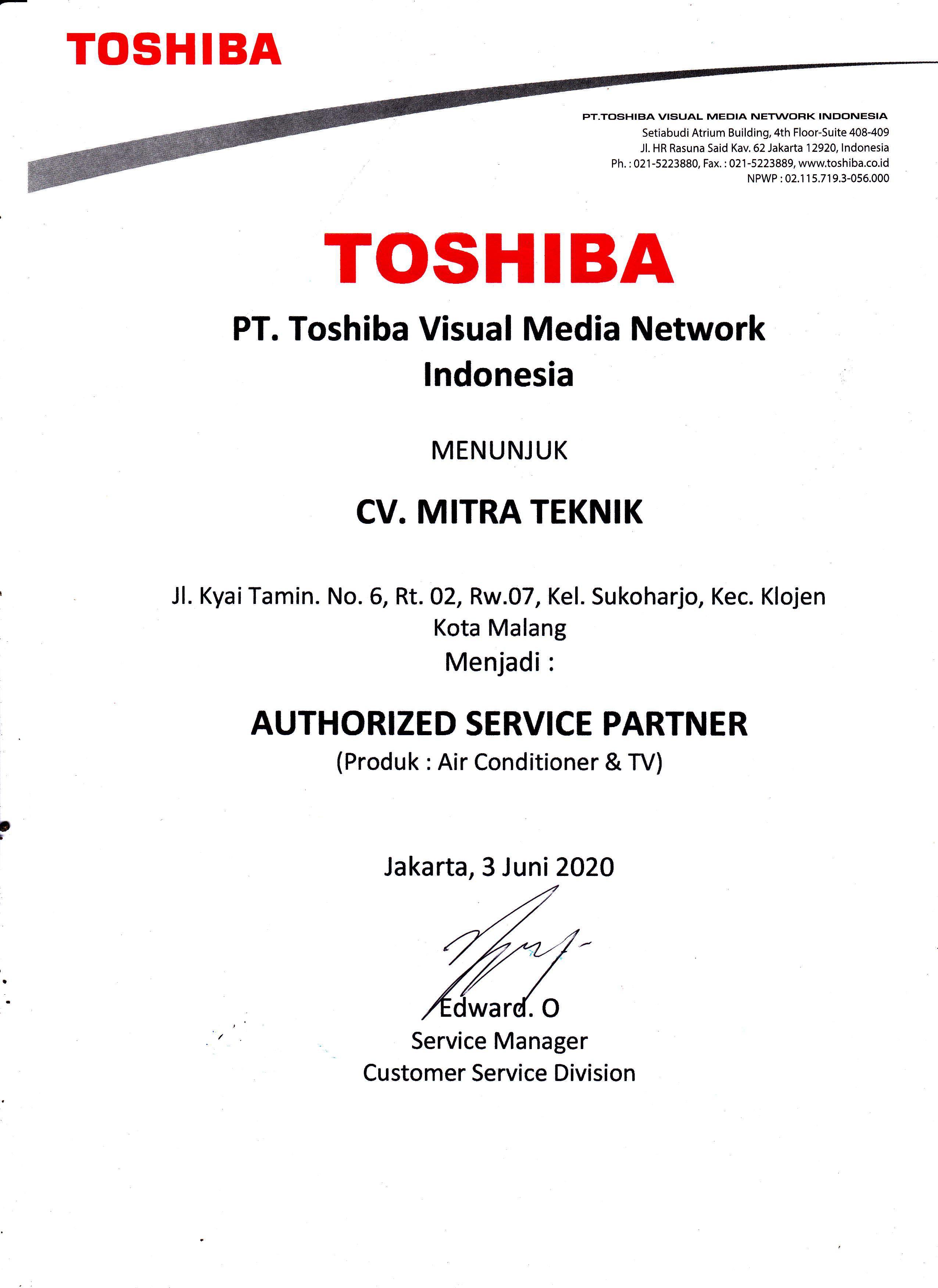 CV. Mitra Teknik
